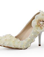 Champagne-Dame-Bryllup Sko-Bryllup / Formelt / Fest/aften-høje hæle-Hæle