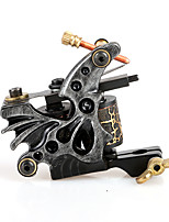 Beauty Tattoo Machine Shader 10 Coils Handmade Tattoo Supply