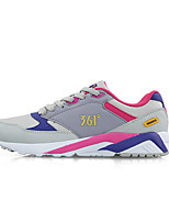361°Gray/Black/Pink Rubber Surface Air Suspension Running Women's Shoes