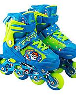 Zapatos Zapatillas de patinaje Semicuero Azul / Rosa / Morado Unisex