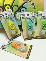 Suministros de Corrección Corrección de cinta,Plástico Colores Aleatorios