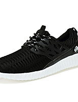 Men's Shoes Casual Fabric Fashion Sneakers Black / White / Gray