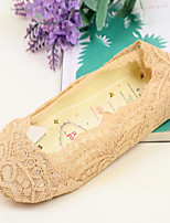Women Thin Socks,Cotton / Lace
