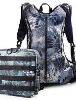 10 L Backpack Waterproof Army Green Terylene