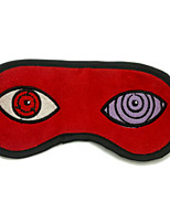 Naruto-Sasuke Uchiha-Vermelho- deVeludo Cotelê-Máscara