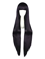 Perucas de Cosplay-Inu x Boku SS-Púrpura- com50-60