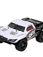 Buggy WLToys K949 1:16 Brush Electric RC Car 30KM/H 2.4G White / Blue Ready-To-GoRemote Control Car / Remote Controller/Transmitter /