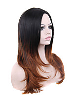 Black Brown Ombre Color Cosplay Synthetic Wigs Cheap Straight Wigs For Black Women Wigs