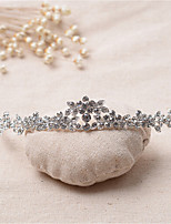Dame Rhinestone / Legering Headpiece-Bryllup / Spesiell Leilighet Diademer 1 Deler Klar Annerledes 13.5