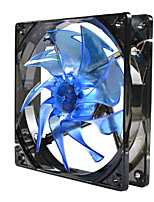 Dual Model 3/4 Pin Power Interface Cooling Fan for Desktop 12*12*2.5