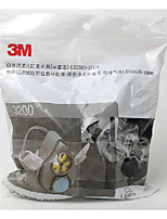 n95 3200 3m polvo máscara de polvo de pulido profesional de la niebla máscara protectora industrial y PM2.5 máscara bruma