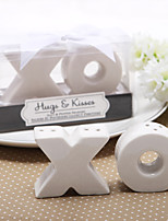 Ceramic Practical Favors-2 Kitchen Tools Classic Theme / Rustic Theme White 4.5*4.5*2cm Ribbons