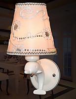 los niños modernos lámpara de pared lámpara de pared de la cabecera de resina de delfines tejido creativo