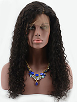 Wet Deep Curly Brazilian Hair Full Lace Wig 8''-26'' Lace Front Human Hair Wigs For Black Woman Curly Wig With Baby Hair