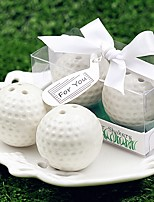 Beter Gifts®Recipient Gifts - Golf Balls Salt and Pepper Shakers Sport Club Party Practical Kitchen Wedding Favors