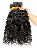 3 Pièces Kinky Curly Tissages de cheveux humains Cheveux Mongoliens Tissages de cheveux humains Kinky Curly