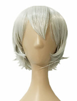 Europe And The United States Cartoon Cos Wig Silver-White Hair Cosplay Wig