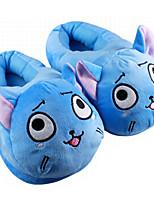 Chaussons Caractéristiques Toison de Coral Chaussures Kigurumi Pyjamas Pyjamas animale Bleu Couleur PleineHalloween / Noël / Le Jour des