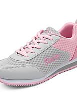 Da donna-Sneakers-Tempo libero / Casual / Sportivo-Comoda / Punta arrotondata-Piatto-Tulle / Finto camoscio-Blu / Rosa