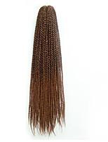 Senegal Twist Braids Haarverlängerungen 22 inch Kanekalon 20 roots /pack Strand 100g Gramm Haar Borten