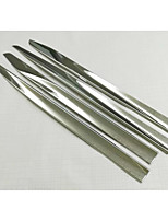 Automotive Supplies Body Trim Strip Stainless Steel Strip For Honda Odyssey / Anti-Rub Metal Strip 4 Pcs