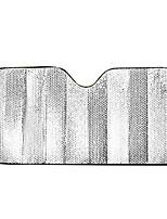 aislamiento de la hoja de sol anti-UV sombrilla del coche 140 * 70cm