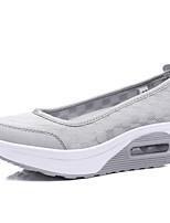 Для женщин Мокасины и Свитер Удобная обувь Светодиодные подошвы Дерматин Весна Лето Осень Для прогулок Для офиса Повседневный Для прогулок