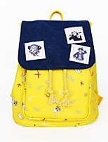 Cartoon One Piece Canvas Backpack