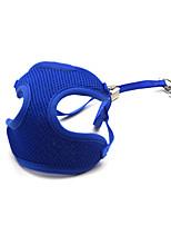 Katter / Hundar Halsband / Selar / Koppel / Handsfree Leash Justerbara/Infällbar / Andningsfunktion / Säkerhet / Träning / Löpning / Vest