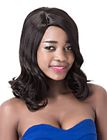 European Vogue Short Sythetic Black Wave Party Wig For Women