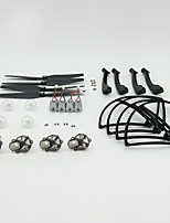SYMA X8W / X8C SYMA Landing Legs / Propellers / Parts Accessories RC Airplanes / RC Quadcopters Black PET