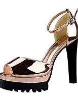 Women's Sandals / Peep Toe / Platform / Sandals Patent Leather Party & Evening / Dress / Casual Stiletto HeelBuckle /