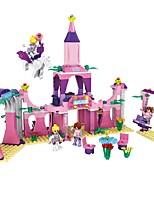 intelligents blocs de construction lego cogo rose pour les filles-wonderland-346 pcs