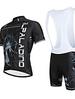 Cycyling PaladinSport Men Shirt + Straps Shorts Suit DBT636 Broken Glass