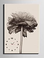 E-HOME® Flower Clock in Canvas 1pcs