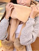 Women Faux Fur Scarf,Cute