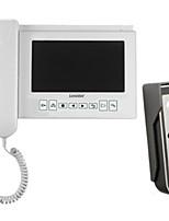 Camera With Receiver Type Visual Doorbell 7 Inch Intelligent Doorbell TK-780DV+816C