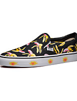 Vans Classics Slip On Men's Shoes Canvas Outdoor / Athletic / Casual Sneakers Flat Heel Black / Yellow / Pink / White