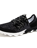 Men's Spring / Fall Tulle Athletic Flat Heel Others Black / Blue / Gray Sneaker