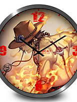 Classic Cartoon Home Decoration Mute Children'S Room Wall Clock