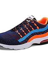 Men's Shoes Tulle Athletic Sneakers Athletic Fitness &  Training Flat Heel  Blue / Gray / Black and White / Navy