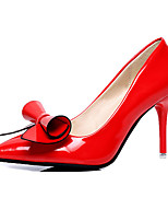 Women's Shoes Patent Leather Summer Heels Heels Casual Stiletto Heel Others Black / Red / White / Silver / Burgundy