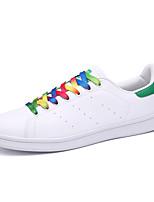 Hombre-Tacón Plano-Bailarinas-Zapatillas de deporte-Casual-Cuero-Negro