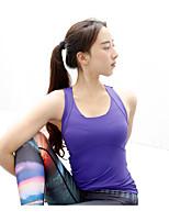 Running Tank Women's Quick Dry / Sweat-wicking / Comfortable Running Sports Sports Wear White / Pink / Purple
