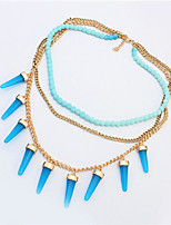 Fashion Multilayer Bullet Necklace Jewelry Street Shooting