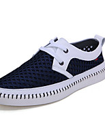 Men's Shoes Tulle Casual Sneakers Casual Walking Flat Heel Others Blue / Brown / Yellow