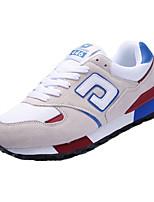 Men's Shoes Tulle Casual Sneakers Casual Walking Flat Heel Others Blue / Purple / Beige