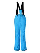 Gsou snow boy girl children straps ski pants  / waterproof  breathable Pants/double snowboard pants