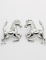 European Style Horse Stud Earrings Silver Gold Plated Party for Women Earrings Fashion