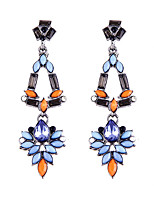 Fashion Trend Hyperbole Chromatic Geometry Earrings